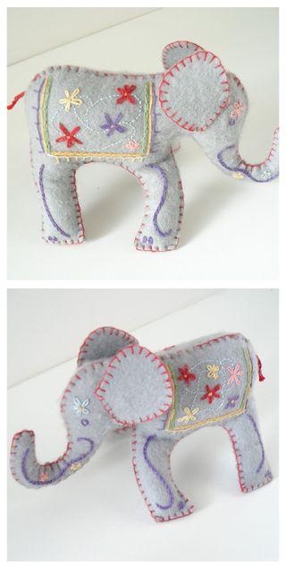 Elephant collage