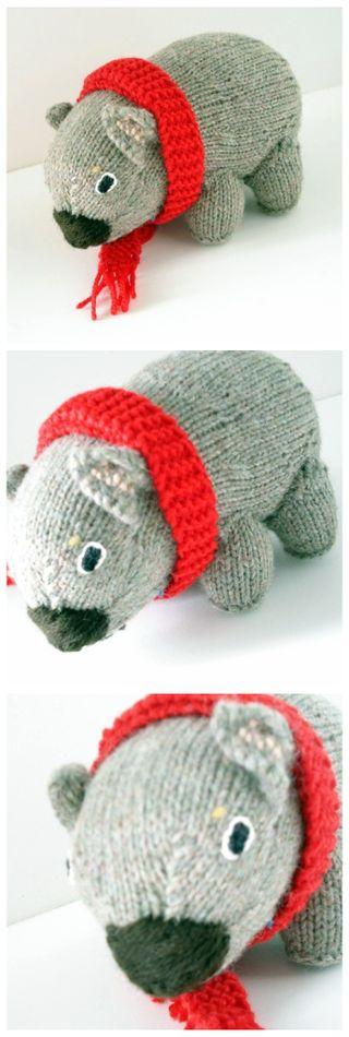 Wombat collage