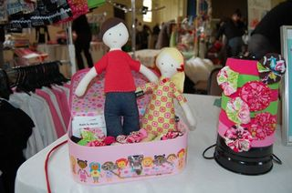 Tom and molly dolls at markets