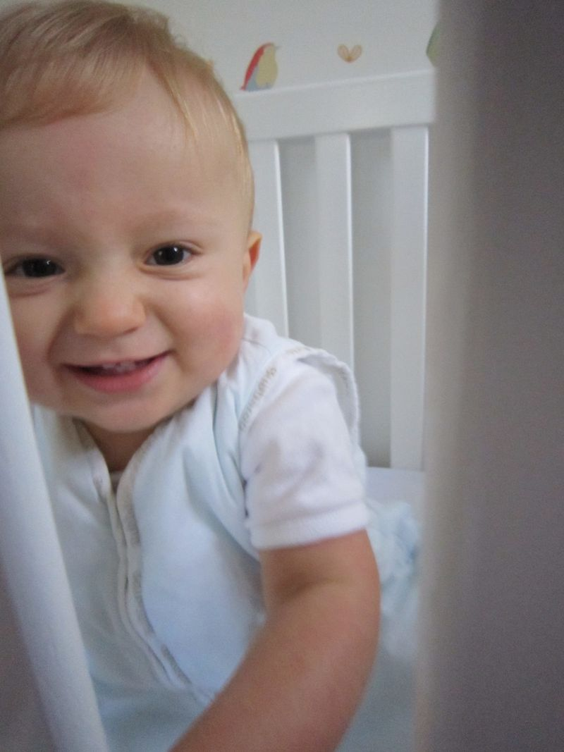 Harry smiling 12 months